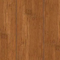 Strand Woven Bamboo Dark Mahogany 3//8 in Thick x 1-3//4 in Wide x 94 in Length Hardwood T-Molding