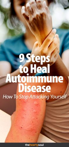 Is your body attacking itself? Here are 9 tips to help you reduce bodily inflammation and heal your overactive immune system. #inflammation #autoimmune