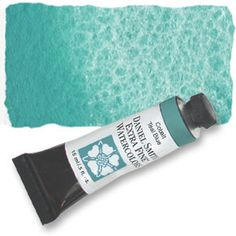 I love Daniel Smith artist quality watercolors...this one is Cobalt Teal Blue (PG50)