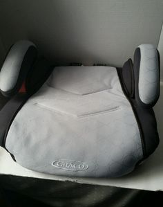 Kids Graco Toddler Car Seat Backless Booster Cover Gray Replacement Part Unisex