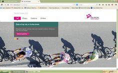 Landing page Tour de Polonge
