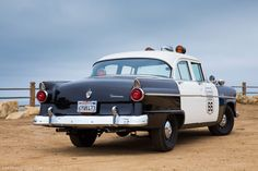 1955 Ford police car