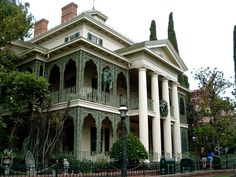 Haunted Mansion - New Orleans garden district style.