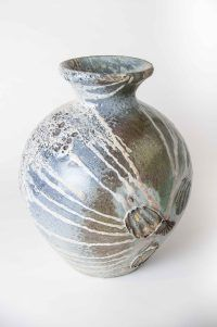 Svend Bayer Wood Fired Glazed Pot,. #SvendBayer.
