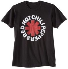 Men's Red Hot Chili Peppers® T-Shirt Black