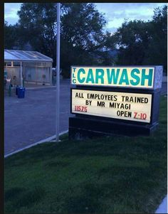 All employees trained by Mr. Miyagi