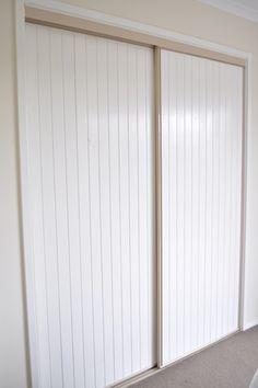 The Painted Hive Closet Door Makeover, Closet Doors, Interior Decorating, Diy Interior, Master Bedroom, House Design, Diy Crafts, Painting, Furniture