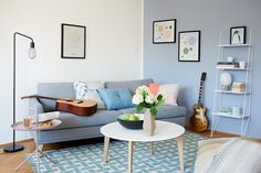 Azul Serenity na decoração de casa anna fasano9