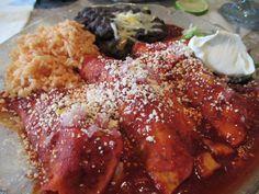 Chicken Enchilada's at Casa Tina's. #ClwbTasteFest #ClwbRestaurantWeek