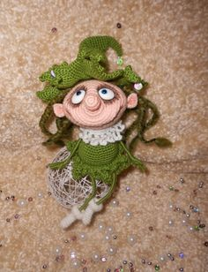 Project by Denis Stupnikov. Doll Marie the Christmas tree crochet pattern by Pertseva for LittleOwlsHut # Doll #Marie #the Christmas tree # crochet pattern# Pertseva# LittleOwlsHut# crafts & DIY