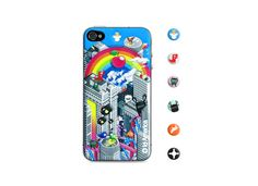 id America Cushi Foam iPhone 4s Case Rnbw #danimobile
