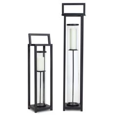 Mason Lantern - Black from Z Gallerie