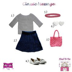 Kat Rose Fashion Head To Toe: Classic Message