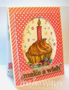 The Buzz: Make A Wish Sequin Shaker Card ~ Blog Hop hosted by #PrettyPinkPosh