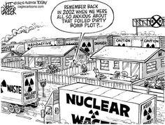 Nuclear Waste Cartoon Nuclear Waste Dirty Bomb 2