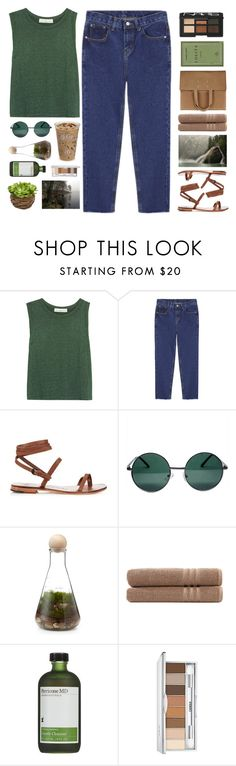 """""""Untitled #2471"""" by tacoxcat ❤ liked on Polyvore featuring Golden Goose, Alvaro, YHF, Linum Home Textiles, Perricone MD, Clinique, Maison Margiela and NARS Cosmetics"""