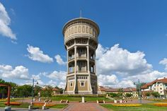 "Hungary - Water tower ""Old Lady"""