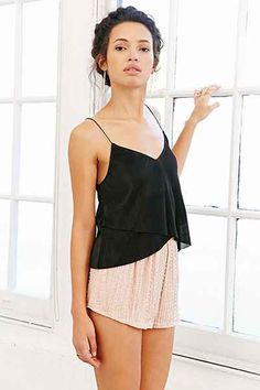 Urban Renewal Recycled Sequin Tap Short - Urban Outfitters