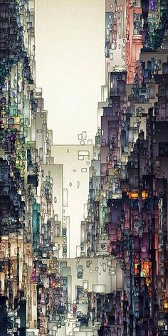 Die 8 innovativsten Street Artists in NYC und wo sie zu finden sind. Klicke auf das The 8 Most Innovative Street Artists in NYC and Where to Find Them. Click the … Art Graphique, City Streets, Street Artists, Oeuvre D'art, Amazing Art, Awesome, Concept Art, Art Photography, Abstract Art
