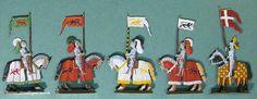 Fem banérförare, 1450