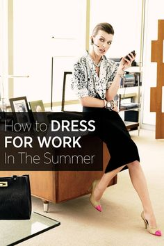 15 rules for dressing for a fashion job and looking stylish in the office: Trajes Business Casual, Business Casual Outfits, Business Attire, Office Outfits, Business Fashion, Work Outfits, Office Attire, Business Women, Fashion Jobs