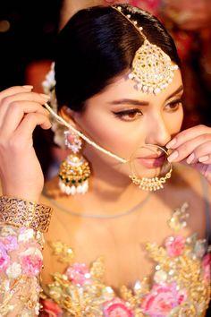 PFDC L'Oreal Paris Bridal Week F/W16 -> backstage - High Fashion Pakistan