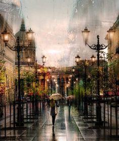 Rain in Saint Petersburg makes everything beautiful  https://www.facebook.com/stpetersburgguide/photos/a.189525011072230.46442.189462327745165/826262714065120/?type=1&theater