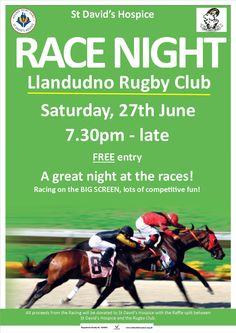 Race Night Flyer Template