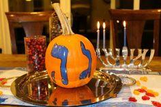 Jack o' Dreidel!  Perfect for Thanksgivukkah!! #thanksgivukkah