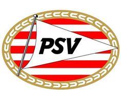Dit is het logo van PSV uit Eindhoven.
