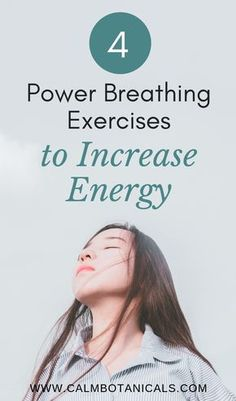 4 Power Breathing Exercises to Increase Energy Accessories Color Tools Free Makeup Breathing Exercises For Sleep, Yoga Breathing, Anxiety Relief, Stress Relief, Severe Insomnia, Herbs For Sleep, Breathing Techniques, Meditation Techniques, Health And Fitness