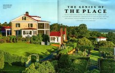 Many thanks to writer Steve Bender and photographer Roger Foley for the beautiful article in the recent issue of Southern Living magazine. I picked up a copy in the airport and read the article on the plane. You two sure know how to make a guy look good!  http://www.pallensmith.com/blog/farm/moss-mountain-farm-in-southern-living