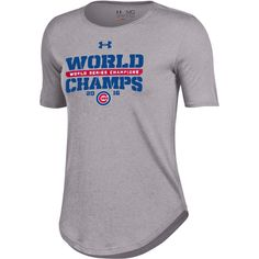 Chicago Cubs 2016 World Series Champions Performance T-Shirt  #ChicagoCubs #Cubs #FlyTheW #MLB #ThatsCub