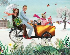 bloemenbakfiets.winter