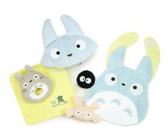Totoro Totoro baby collection-toys gift set B set フェイススタイ, hats, rattles-mini towel q toy Studio Ghibli anime movie anime baby Totoro Studio Ghibli My Neighbor Totoro Totoro and next to the tuna?