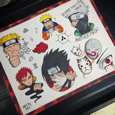 @black.metal with this great #naruto flash sheet! Amazeballs #anime #cosplay…