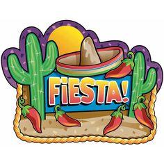 Mexican Fiesta Party Cutouts