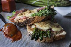 Asparagus Croque Monsieur - Australian FlavoursAustralian Flavours | Australian Flavours