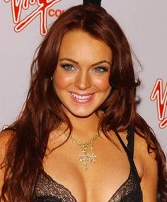 Hair color lohan lindsay