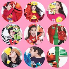 Esme and  Haruki @bossinibrunei x 芝麻街系列 , 好可愛。 #esmev #harukis #bossinibrunei #sesamestreet