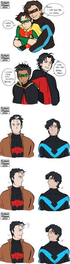 Batman And Superman, Batman Robin, Marvel Dc Comics, Robin Comics, Dc Comics Art, Batfamily Funny, Gotham Villains, Dc Memes, Batman Universe