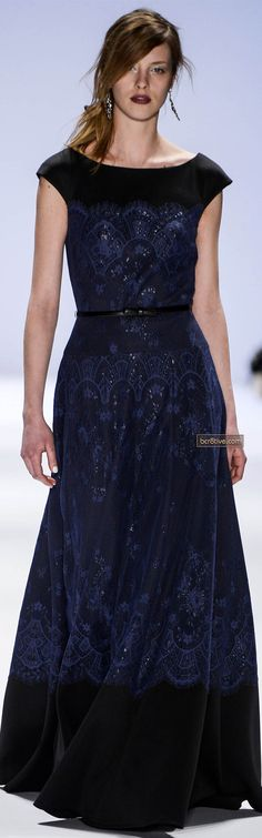 Tadashi Shoji Fall Winter 2013 New York Fashion Week