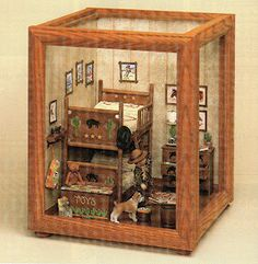 MAKING ROOMS & DISPLAY BOXES FROM PICTURE FRAMES  - Joann Swanson
