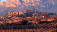the stunning town of laguardia, la rioja, spain