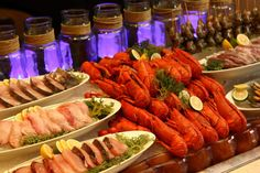 Seafood Selection at Fresh Buffet (Solaire is your one-stop culinary spot for your favorite international food)