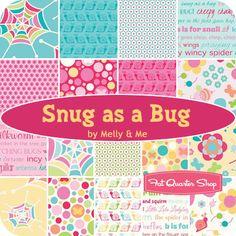 Snug as a Bug Rolie Polie Melly & Me for Riley Blake Designs - Fat Quarter Shop