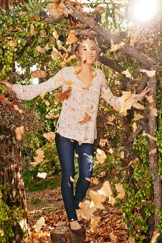 Lauren Conrad in an LC Lauren Conrad for Kohl's Outfit