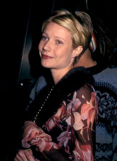 Gwyneth Paltrow and Brad Pitt had matching pixie cuts back in 1997. See all her best beauty moments here:
