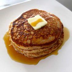 Whole Wheat Banana Pancakes Recipe Breakfast On A Budget, Sunday Breakfast, Breakfast Smoothies, Breakfast Recipes, Garlic Butter Mushrooms, Wheat Bread Recipe, Whole Wheat Pancakes, Whole Wheat Tortillas, Tortilla Recipe