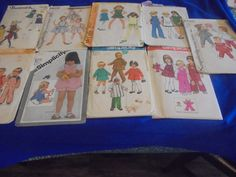 All Sz 3 U Pick  Childrens  Sewing Patterns by AngieFoundit4U